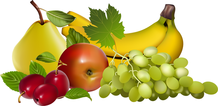 Free transparent fruit cliparts. Fruits clipart banner black and white library