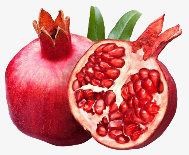 Fruit clipart pomegranate. Red png image and