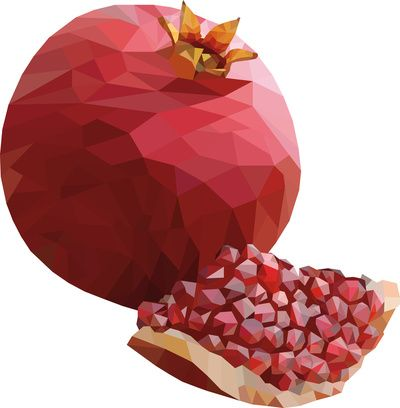 Fruit clipart pomegranate. Free transparent png clip