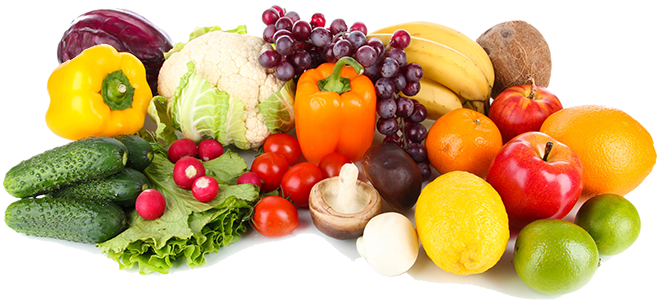 Vegetables ninos fresh cut. Fruits and veggies png picture freeuse stock