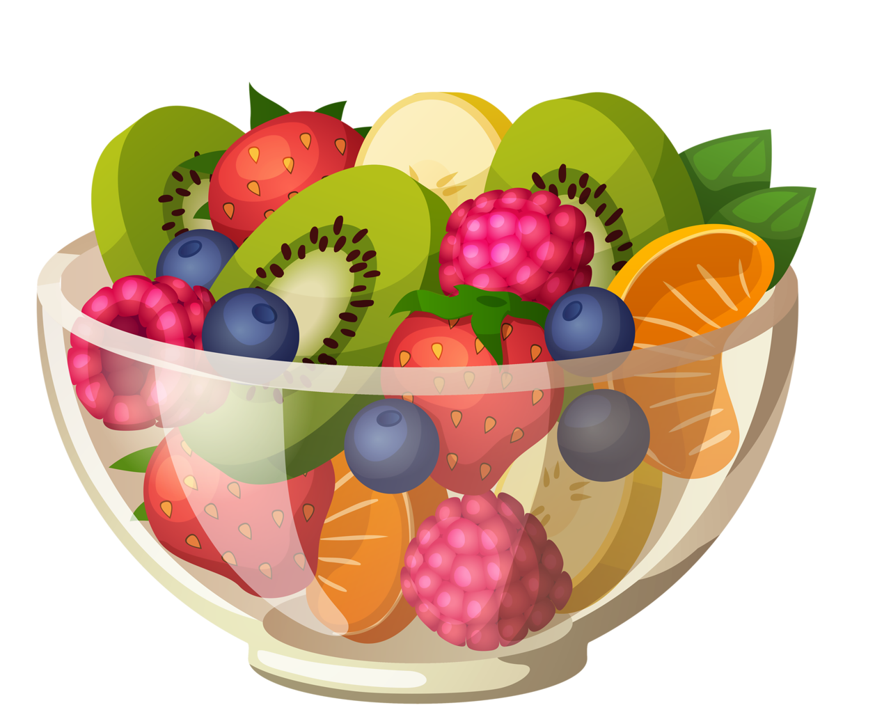 Transparent bowl fruit. Shutterstock png clip art