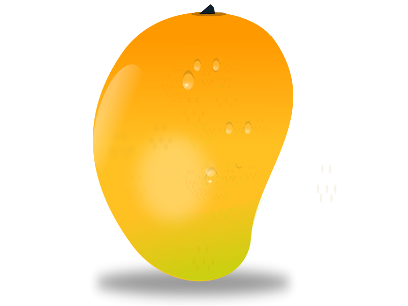 Fruits clipart. Mango