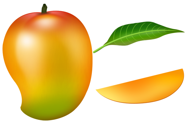 mango clipart black and white png