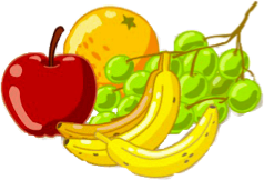 Fruits clipart time. Dietary self assessment fruit