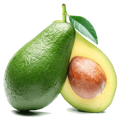 Transparent avocado clear background. Fruits png images stickpng