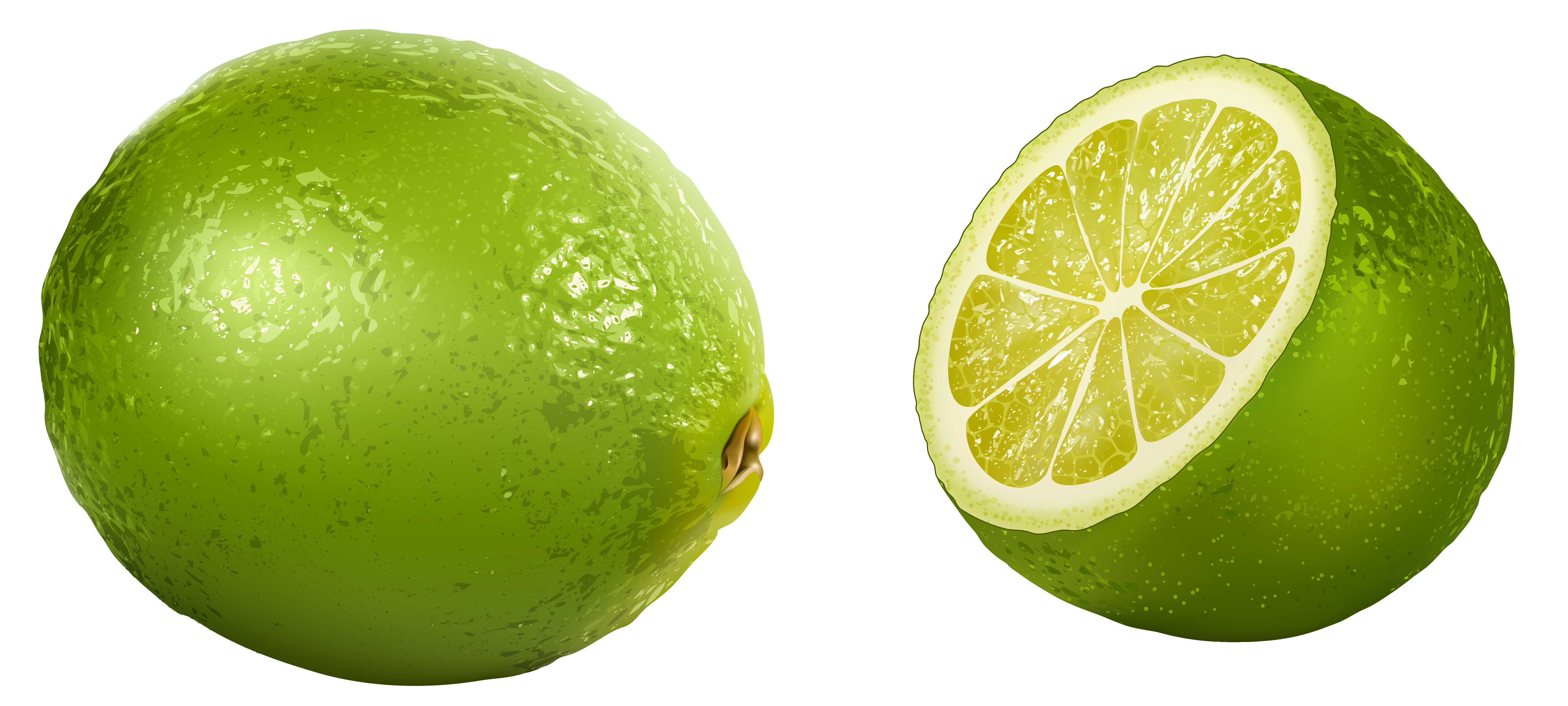 Fruits transparent lime. Clipart picture gallery yopriceville