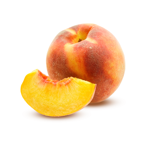 Fruits transparent peach. The pick best fruit