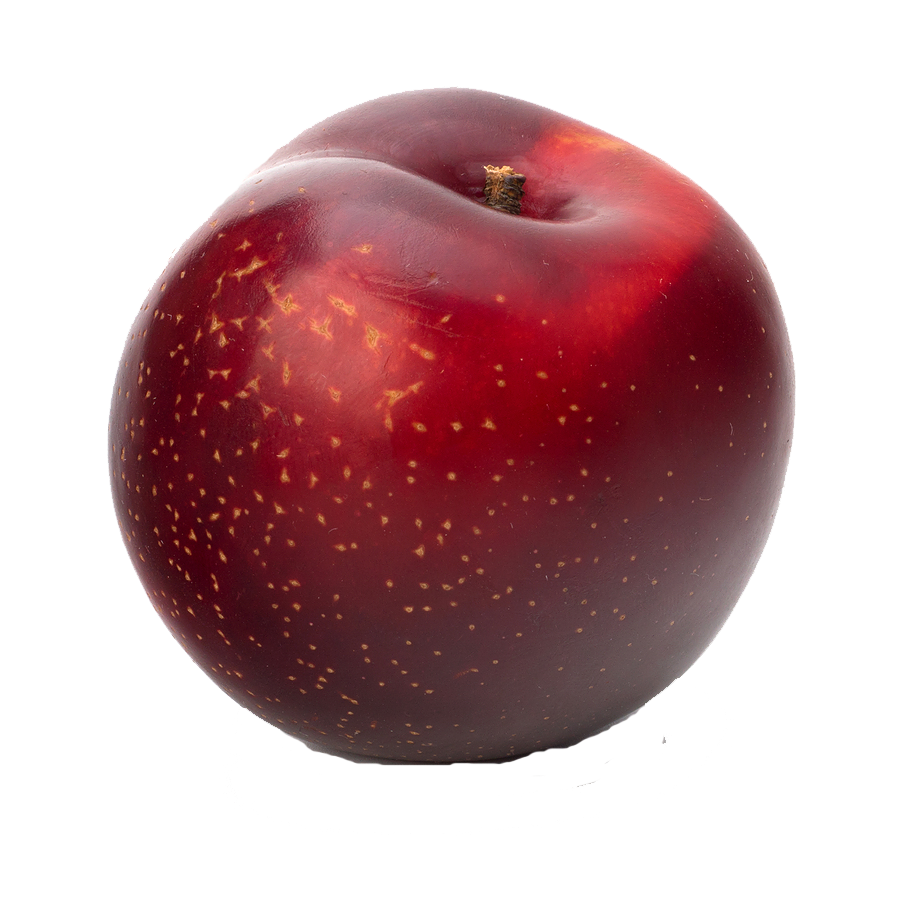 Fruits transparent plum. Png images group with