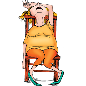 Lady clipart tired. Frustrated clip art library