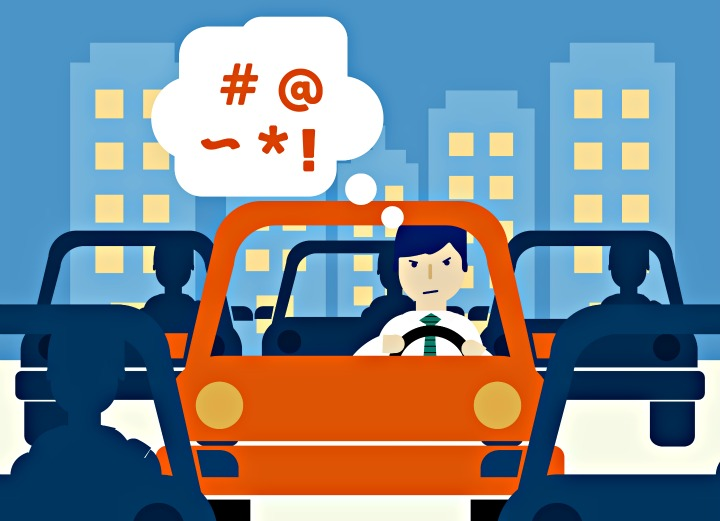 Frustrated clipart aggressive driving. When and where does