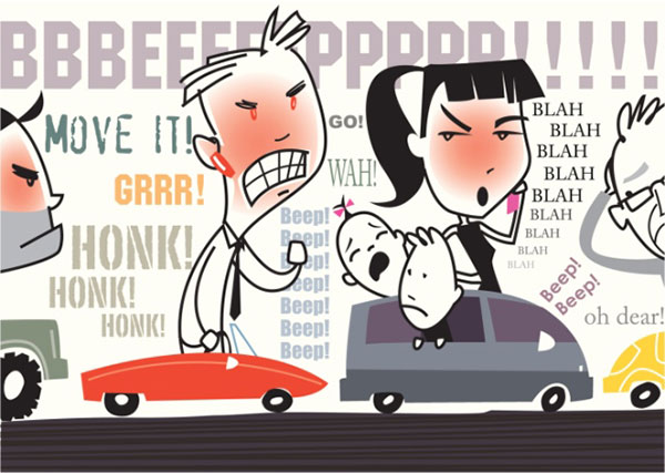 Frustrated clipart aggressive driving. Ways to avoid