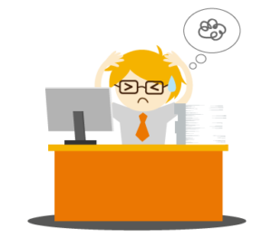 Frustrated clipart frustrated employee. How to win in