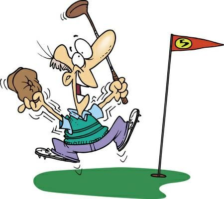 Golfing clipart cute. Best golf images
