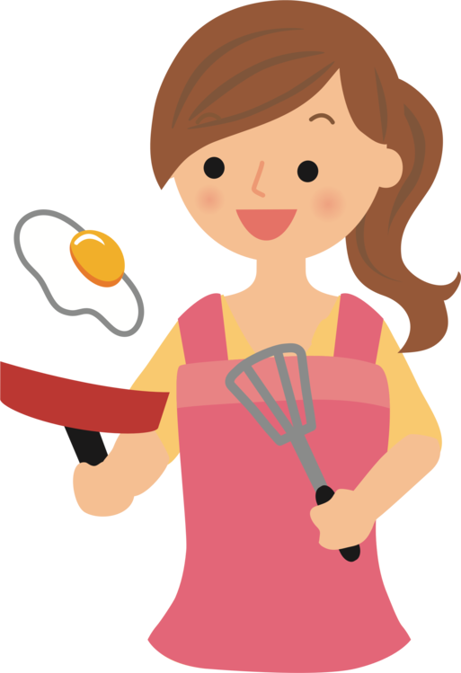 Frying clipart. Fried egg pan cooking