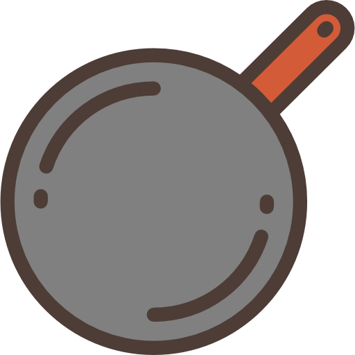 Frying clipart fire cooking. Food pan cook hot