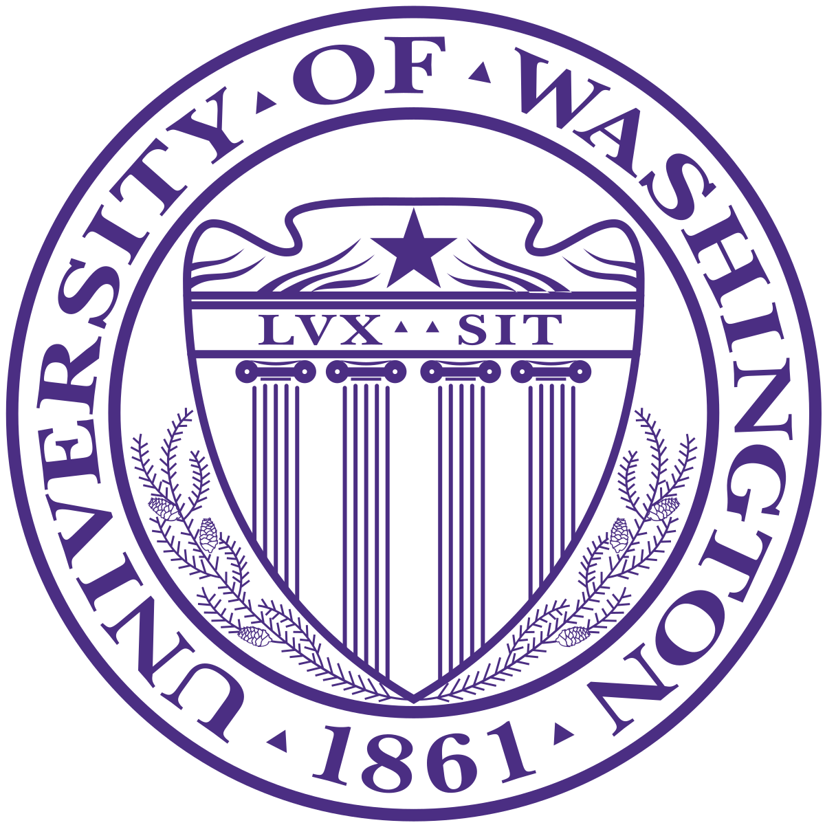Husky svg george brown. University of washington wikipedia