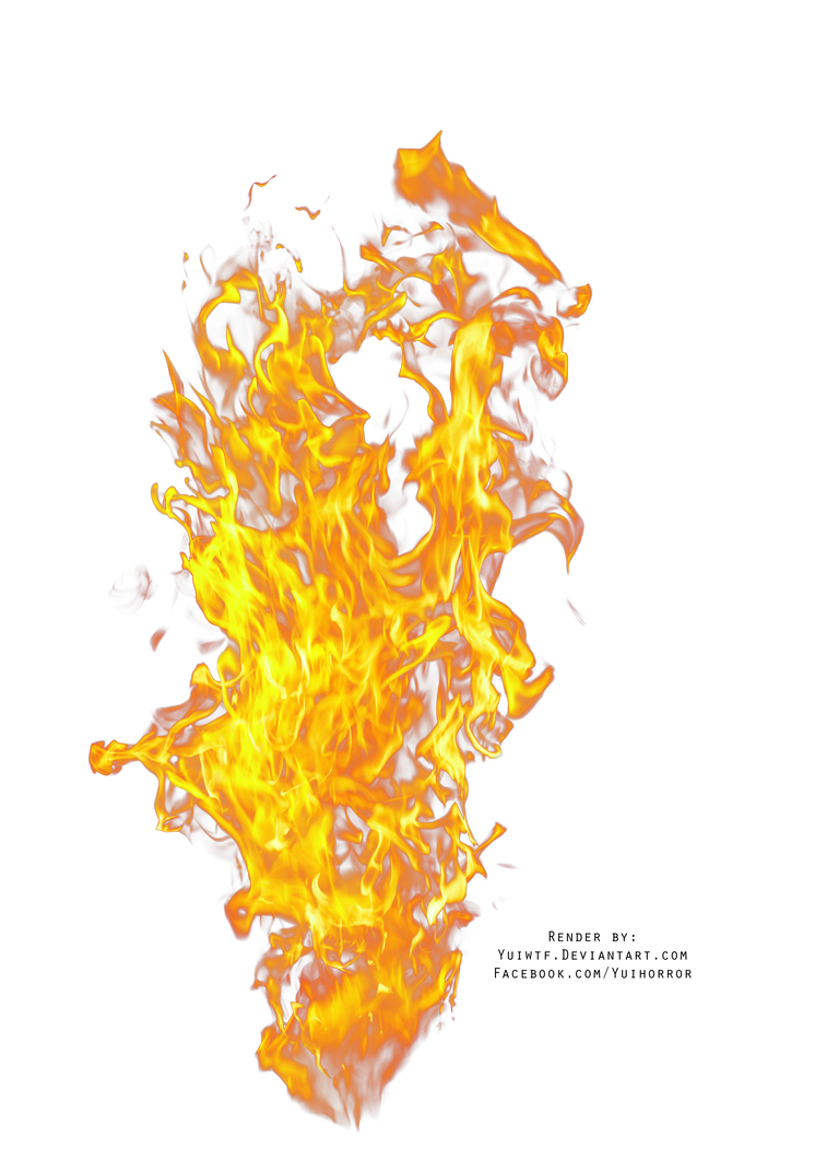 By yuiwtf on deviantart. Fuego png vector transparent