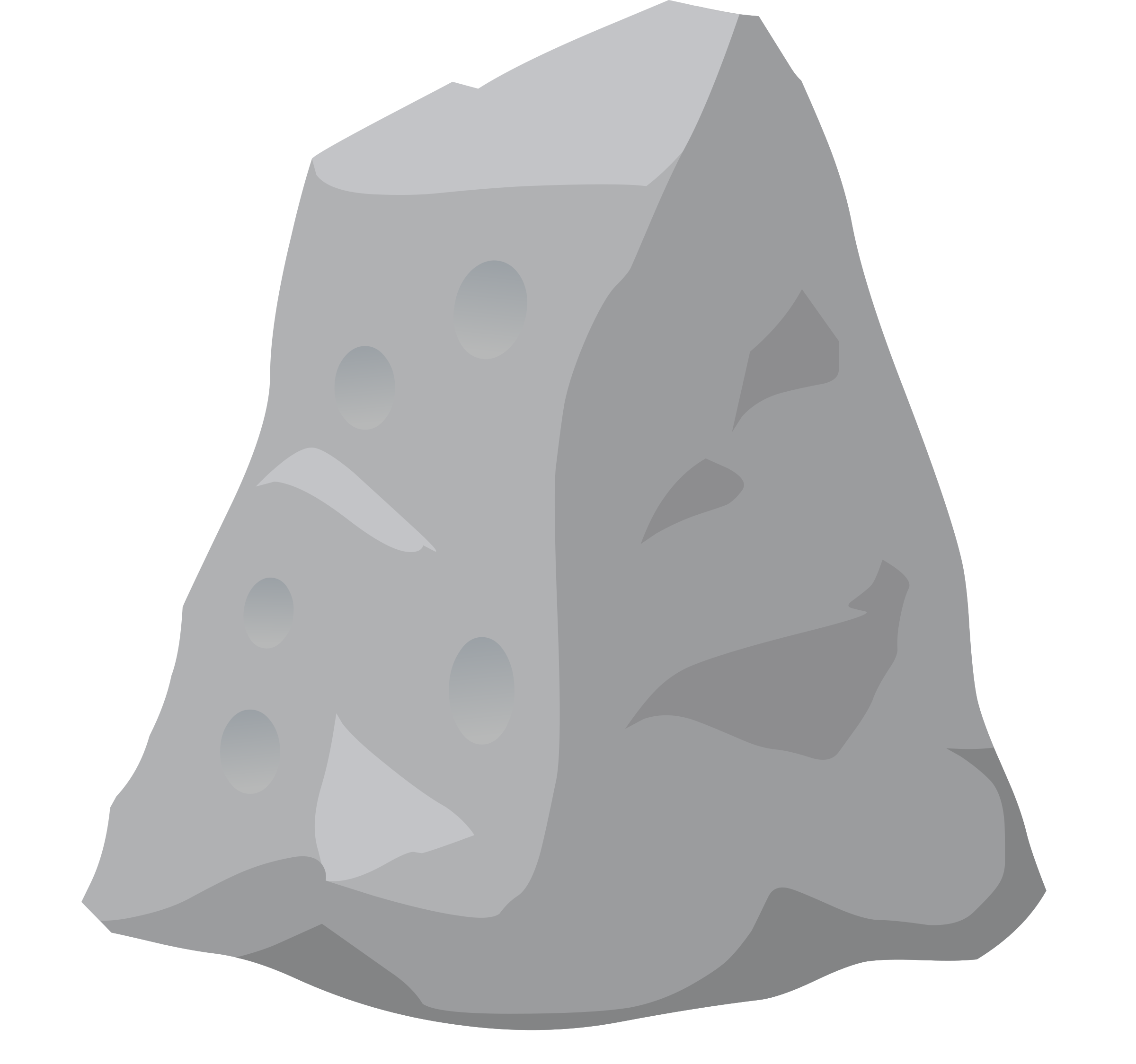 transparent rocks sketch