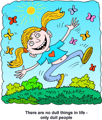 Full clipart dull. Image happy girl jumping