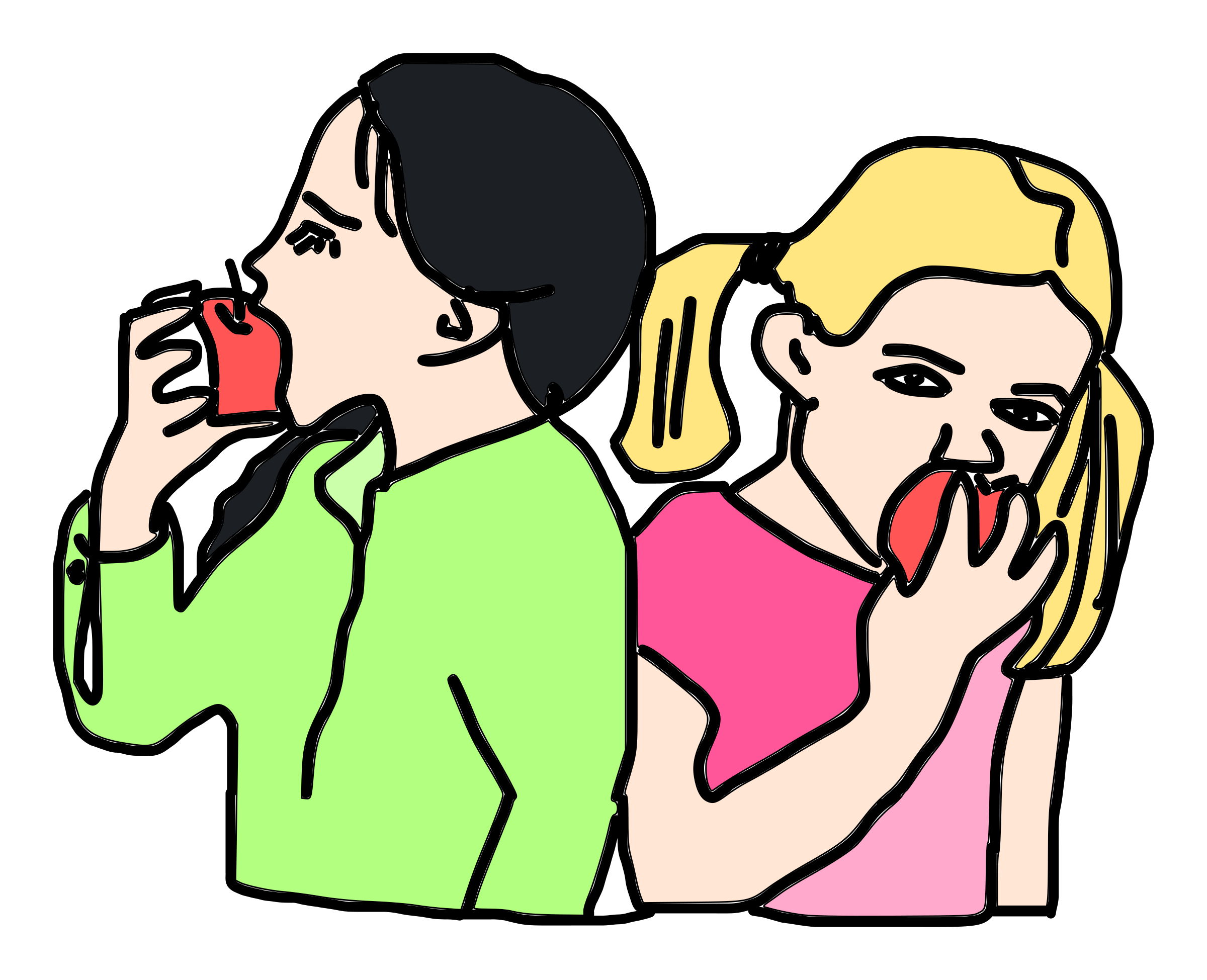 Full clipart eaten. Apple clip art eating