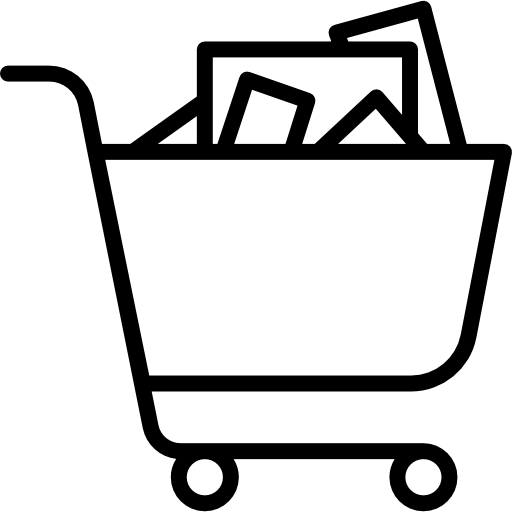 Full clipart full trolley. Shopping free commerce icons