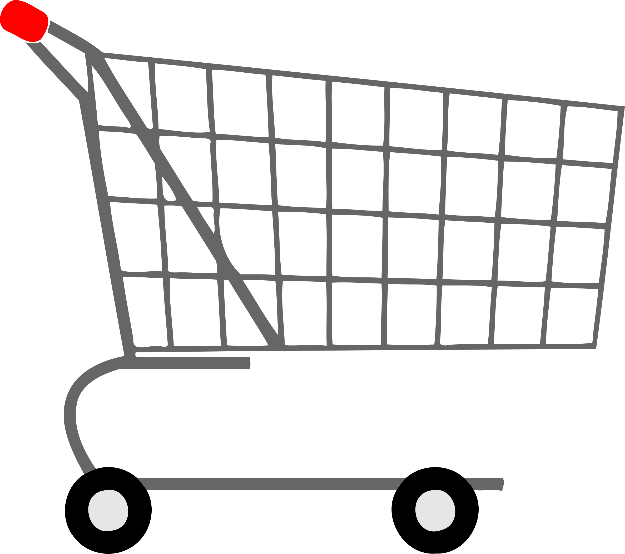 Full clipart full trolley. Shopping big image png