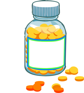 pill bottle labels png