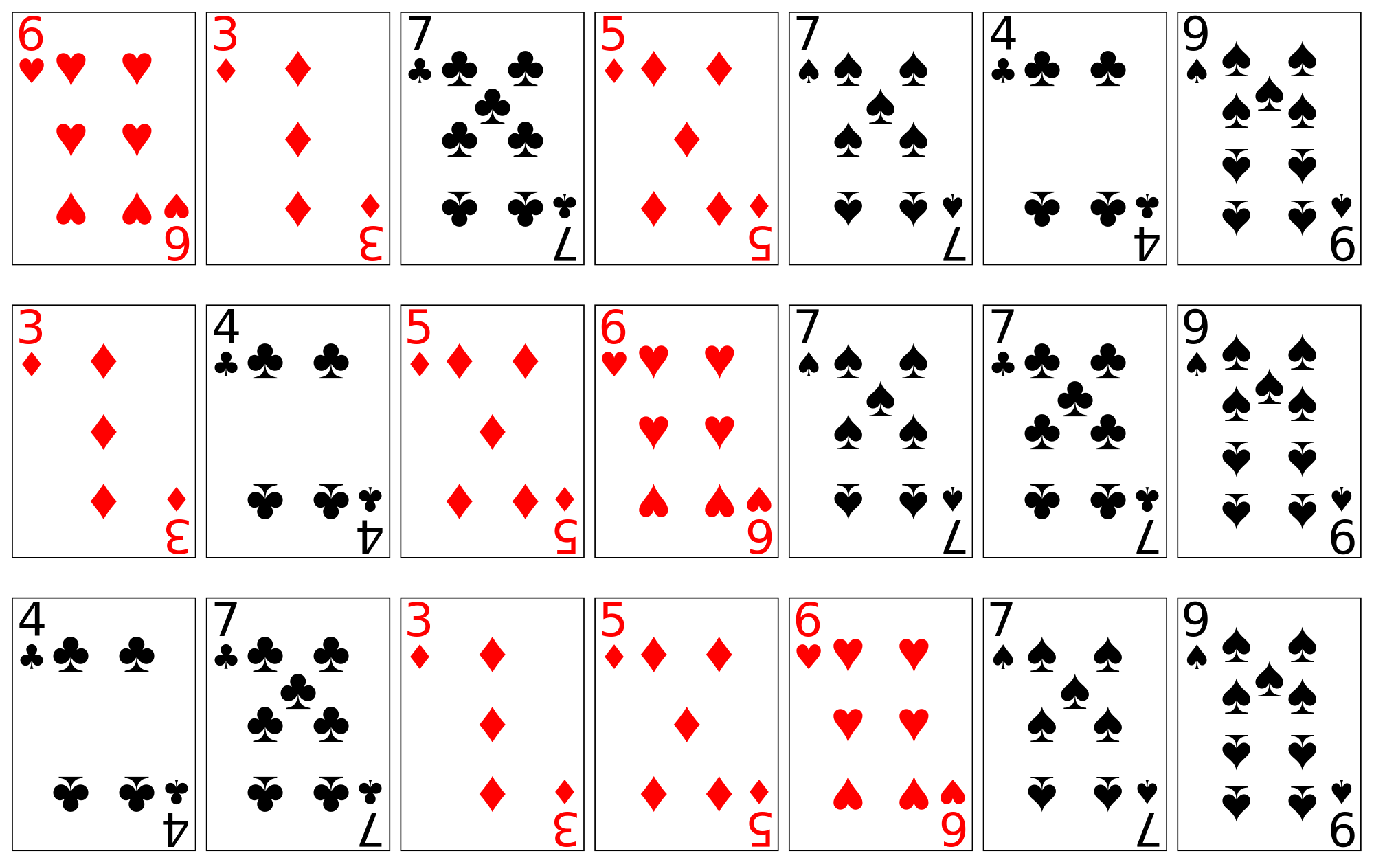 Full deck of cards png. File sorting playing using