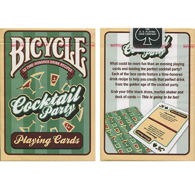Full deck of cards png. Bicycle cocktail party by