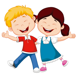 Children png clipart. Kids having fun at