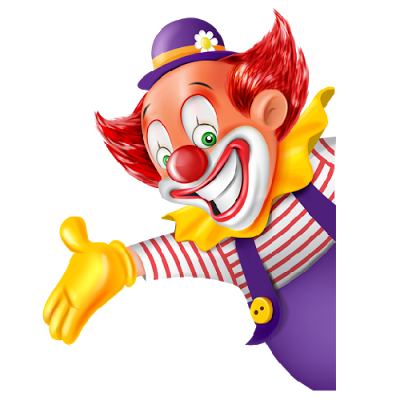 fun clown png