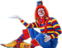 Fun clown png. Event and party organizers
