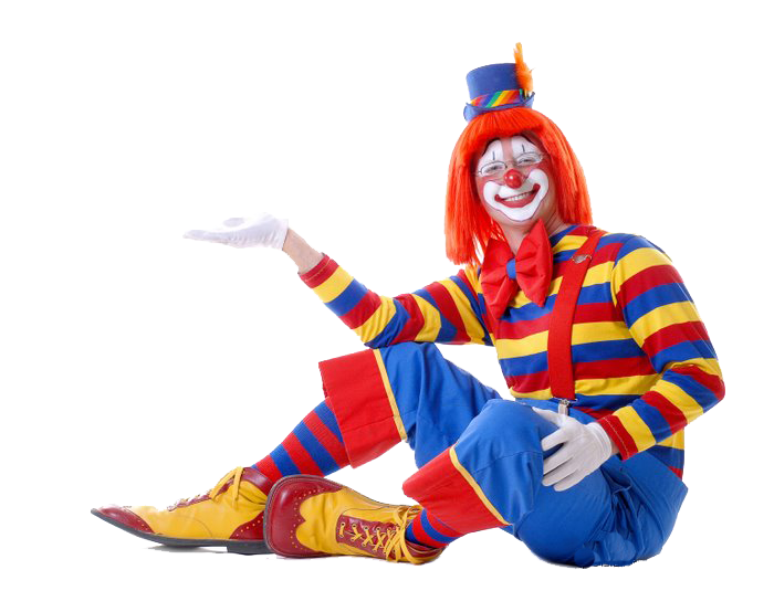 Fun clown png. Clipart images