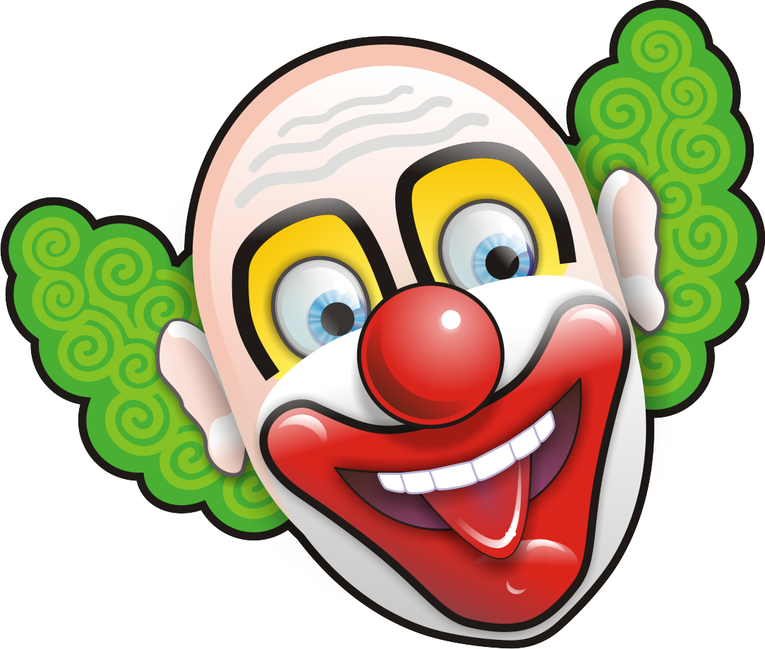 Images of circus png. Clown clipart evil jester banner free download