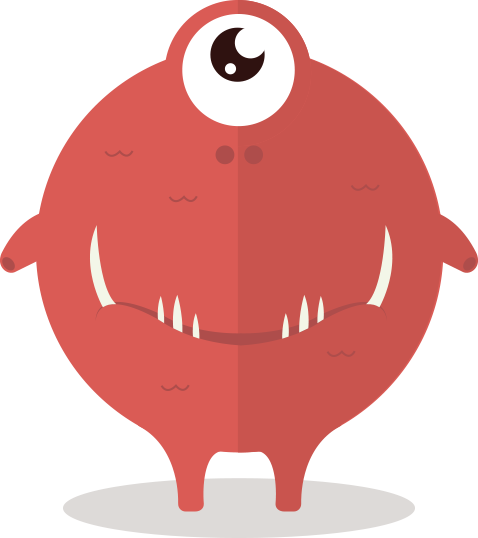 Fun monster png. Cute clipart blogs and