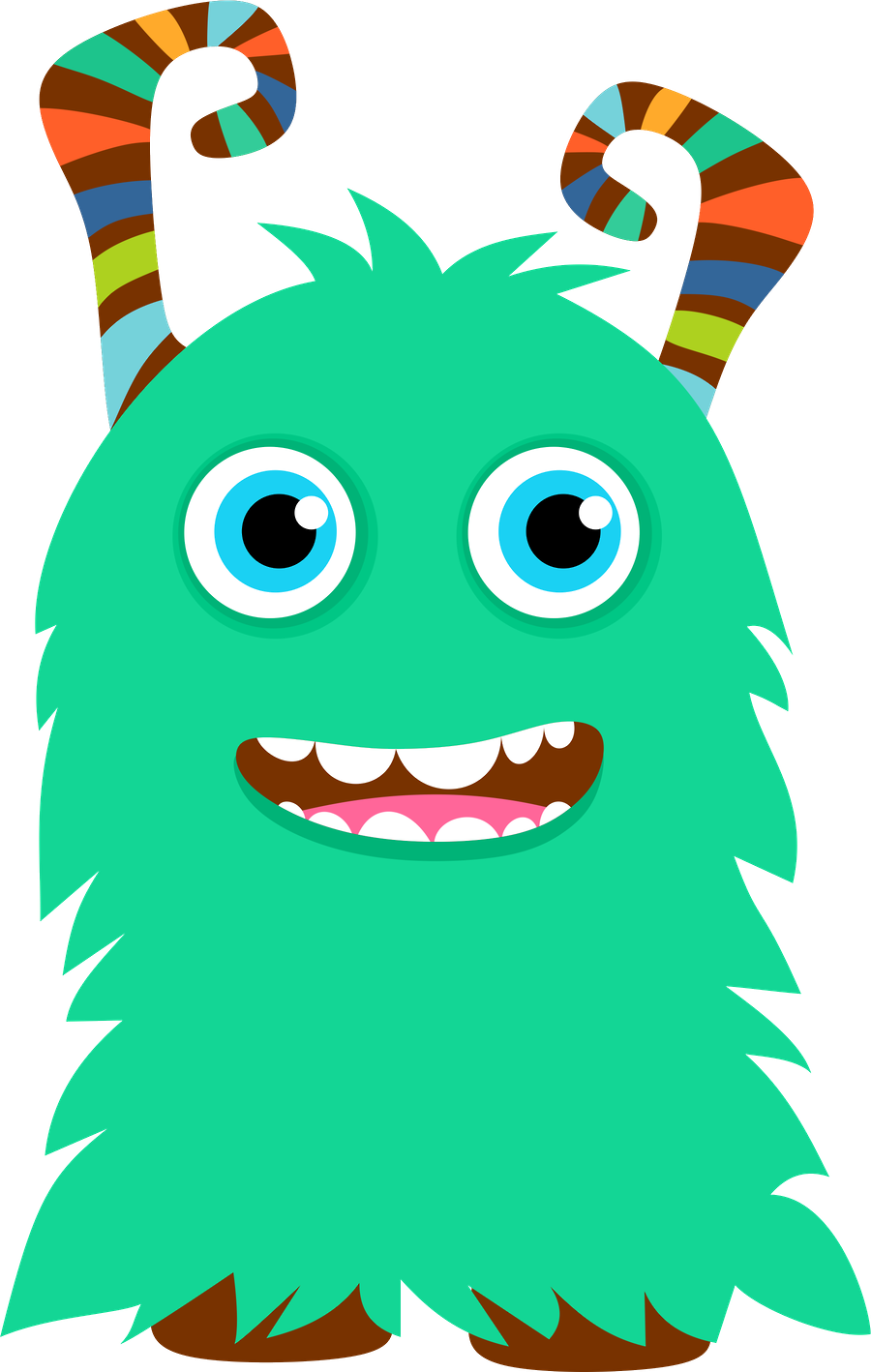 Fun monsters clipart png. Sgblogosfera mar a jos