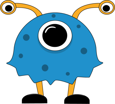 Fun monsters clipart png. Free cute monster clip