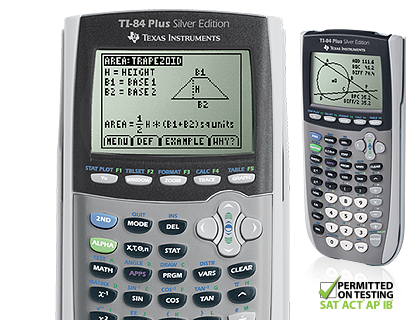 Function drawing graphing calculator. Ti plus silver edition