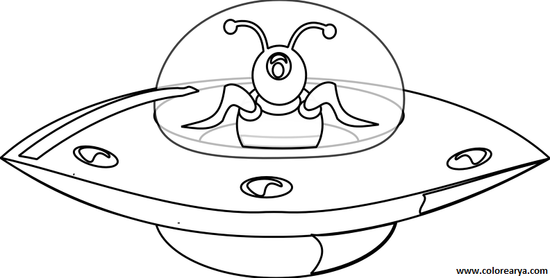 Function drawing ufo. Characters printable coloring pages