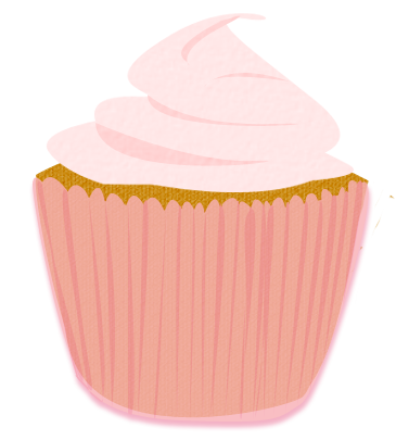 Pink cupcake png. Cake stall for sign