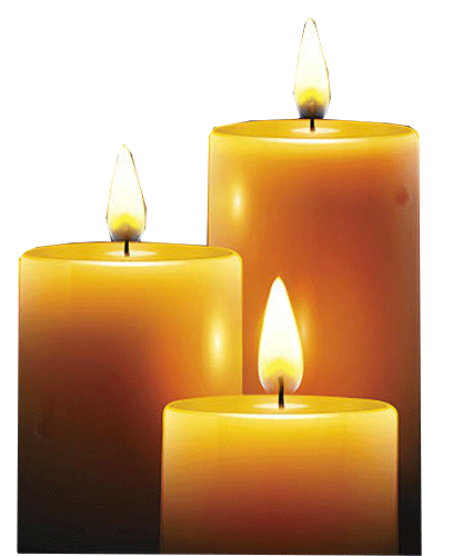 Funeral candles png. Orchid assurance exceptional send