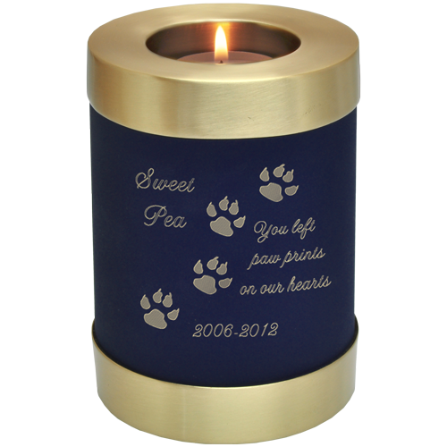 Funeral candles png. Pet memorial candle holder
