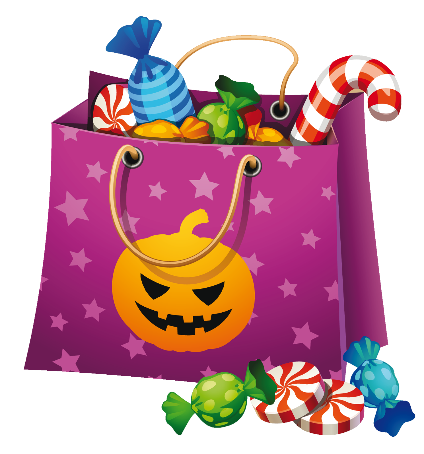 october clipart candy