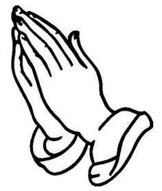 Funeral clipart prayer hand. Www religious clip art