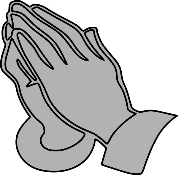 Prayer vector transparent. Praying hands clipart for