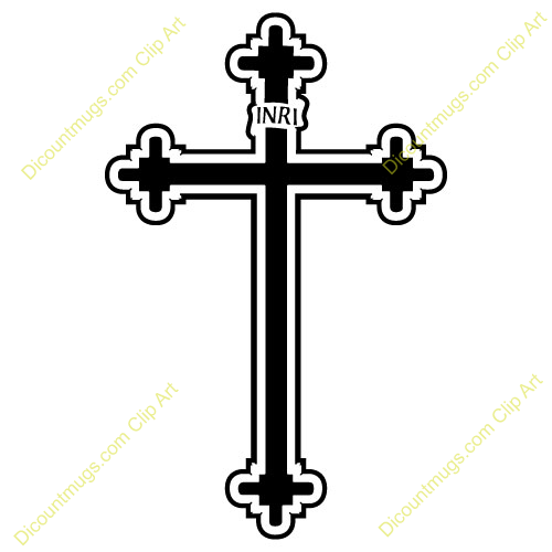 Crucifix clipart. Funeral catholic cross pencil
