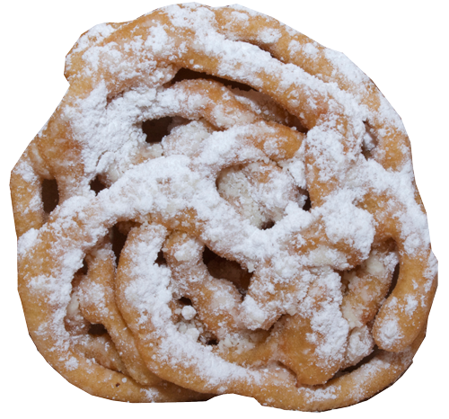 Funnel cake png. Jerrys snow cones funnelpng