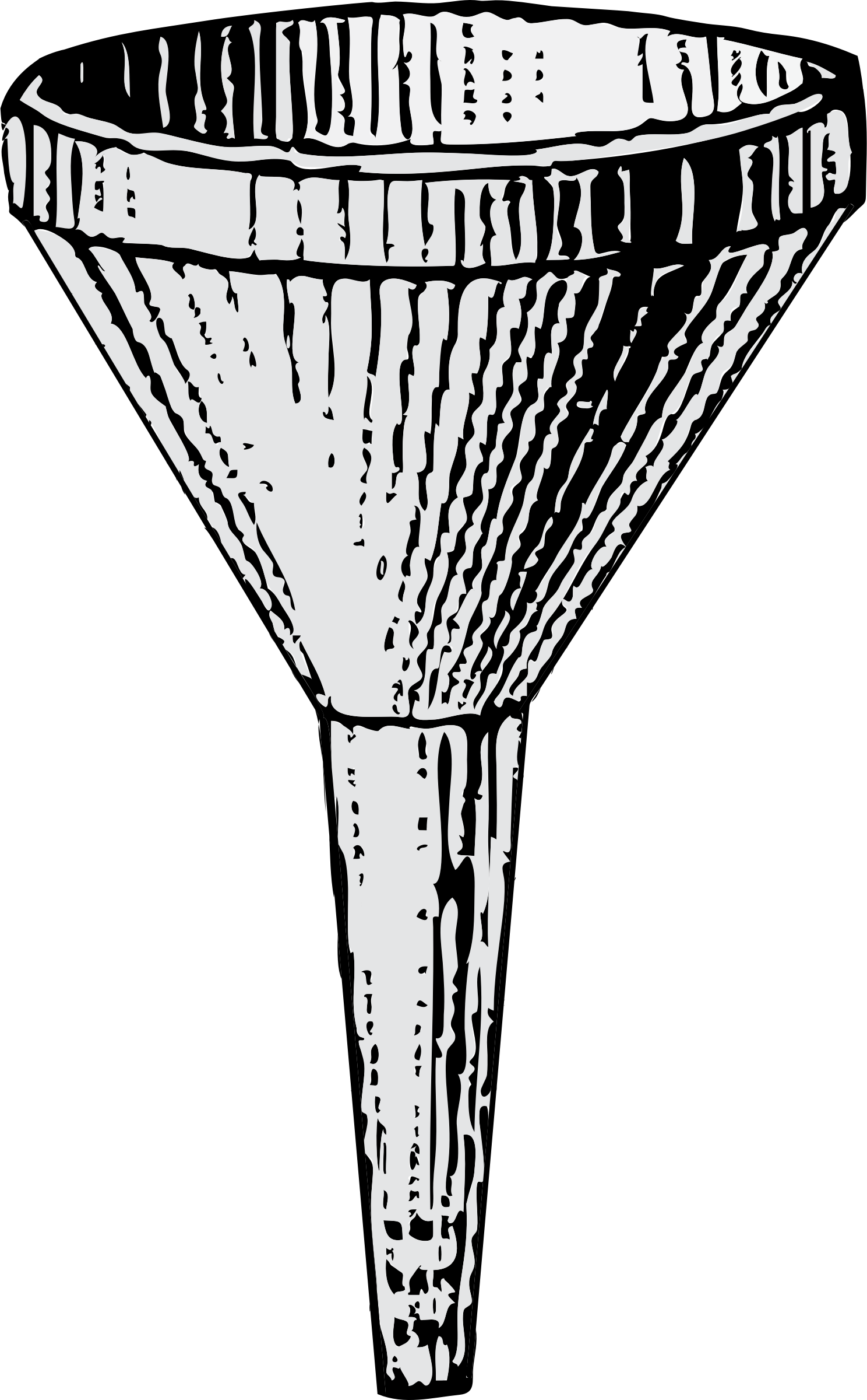 Funnel drawing. Clipart big image png