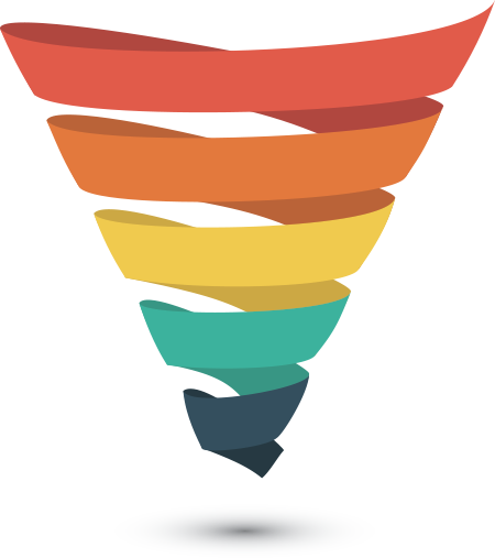 Funnel graphic png. Strategy skyconversion developing a