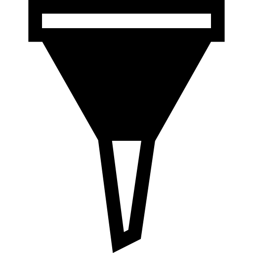 Funnel graphic png. Icon page svg
